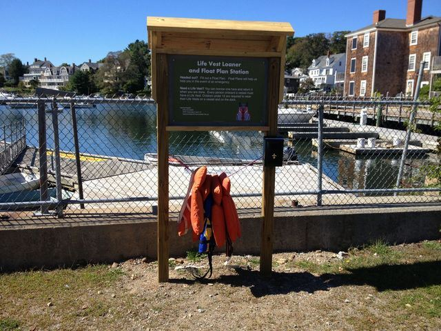 Life Jacket Loaner and Float Plan Kiosks